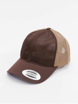 Flexfit Trucker Cap YP Classics 360 Omni Mesh 2-Tone marrone