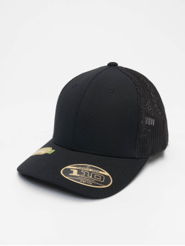 Flexfit Trucker Cap 110 Recycled Alpha Shape schwarz