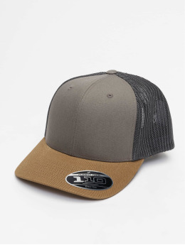 Flexfit Trucker Caps 110 brazowy