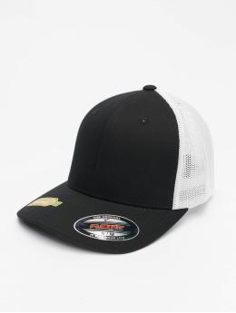 Flexfit Trucker Caps Recycled Mesh svart
