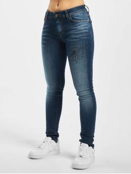 Fornarina dżinsy przylegające RACHEAL  niebieski