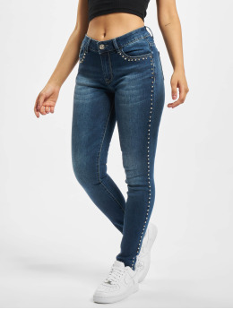 Fornarina Slim Fit Jeans HAPPY  blauw