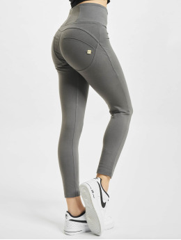 Freddy Облегающие джинсы WR.UP 7/8 High Waist Super Skinny   серый