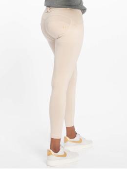 Freddy Jeans slim fit Regular Waist 7/8 beige