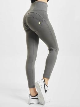 Freddy Legging Basic 7/8tel Highwaist Super Skinny Jeans Optik grau