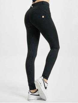 Freddy Legging Schlange Regular Super Skinny Jeans Optik schwarz