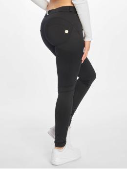 Freddy Skinny Jeans Regular Waist čern
