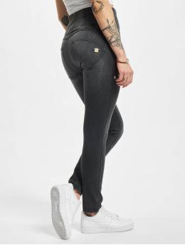 Freddy Skinny Jeans High Waist Cotton black