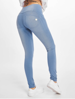 Freddy Skinny Jeans Medium Waist blau