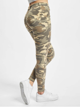 Freddy Skinny Jeans Regular Cotton camouflage