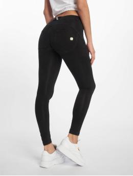 Freddy Skinny Jeans Regular Waist 7/8 Super czarny