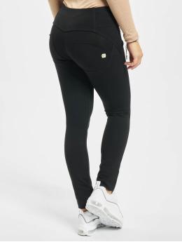 Freddy Skinny Jeans Basic Medium Waist czarny