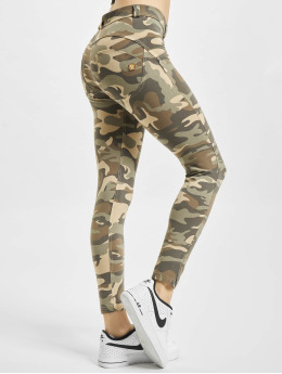 Freddy Skinny jeans WR.UP 7/8 Regular Waist Super Skinny kamouflage