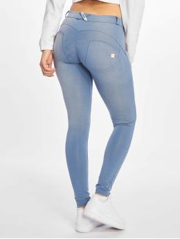 Freddy Skinny Jeans Regular Waist modrý
