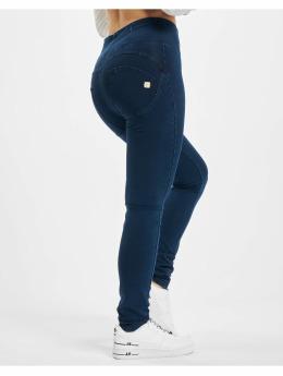 Freddy Skinny Jeans Highwaist  modrý