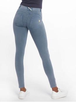 Freddy Skinny Jeans Regular Waist niebieski