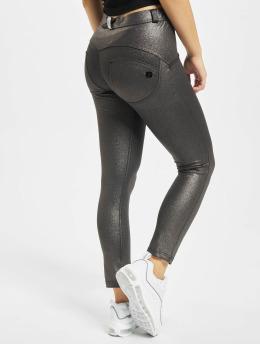 Freddy Slim Fit Jeans Regular 7/8tel Black Fancy grau