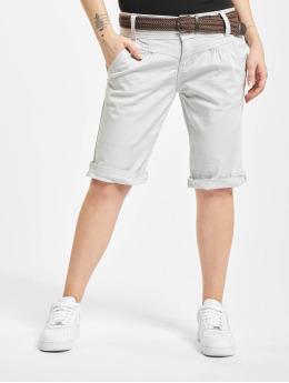 Fresh Made Pantalón cortos Belt Bermuda  gris