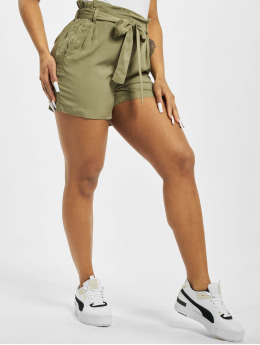 Fresh Made Short Elastic Waistband olive