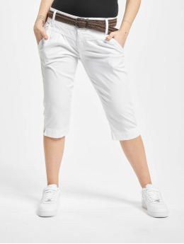 Fresh Made Shorts Belt Capri hvit