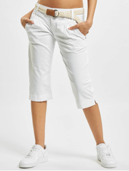 Fresh Made Shorts Capri weiß