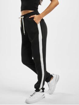 Fresh Made Spodnie do joggingu Basico czarny