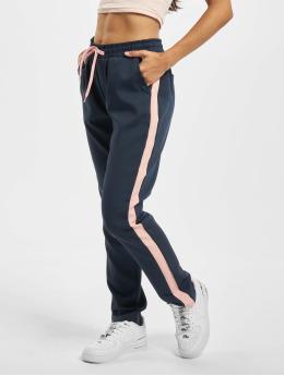 Fresh Made Spodnie do joggingu Basico niebieski