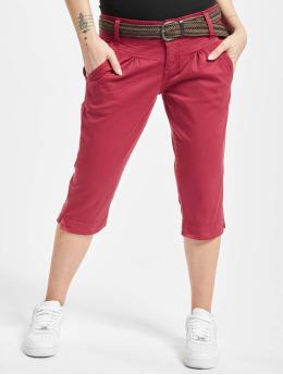 Fresh Made Szorty Belt Capri czerwony