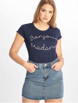 Fresh Made t-shirt Madame blauw