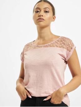 Fresh Made T-Shirt Lace  rosa