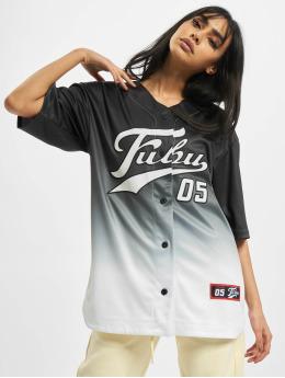 Fubu Camisa Varsity Baseball negro
