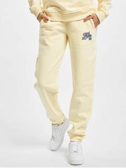 Fubu Pantalón deportivo Varsity beis