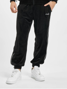 Fubu Pantalone ginnico Fb Corporate Velours nero