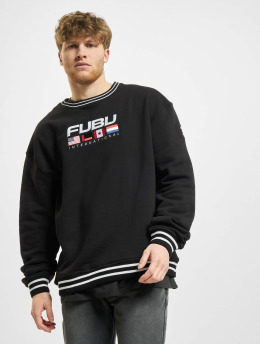 Fubu Pullover Fb Corporate Intnl Ssl  black