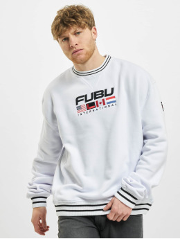 Fubu Pullover Fb Corporate Intnl Ssl  white