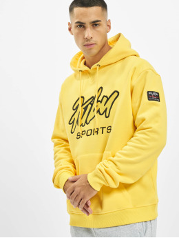 Fubu Sweat capuche Fb Sprts jaune