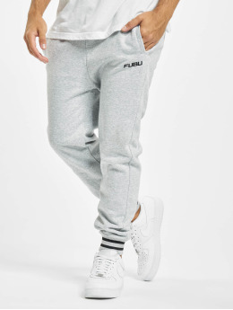 Fubu Sweat Pant Fb Corporate Ssl gray