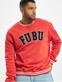 Fubu Swetry Fb College Ssl czerwony