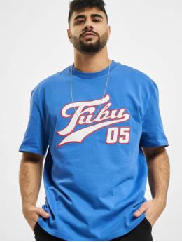 Fubu T-Shirt Varsity  blau