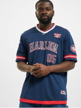 Fubu T-Shirt Athletics Harlem Jersey blau