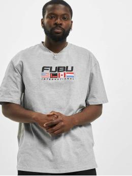 Fubu T-Shirt Corporate  grau