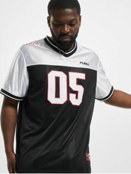 Fubu T-Shirt Corporate Football Jersey schwarz