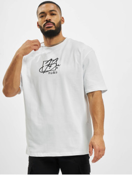 Fubu T-Shirt Script weiß