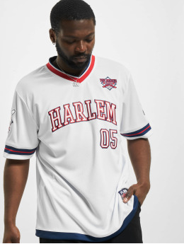 Fubu T-Shirt Athletics Harlem Jersey  weiß