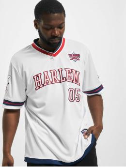 Fubu T-Shirty Athletics Harlem Jersey  bialy