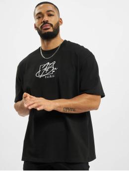 Fubu T-Shirty Script czarny