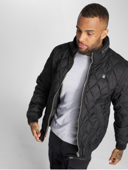 G-Star Manteau hiver Meefic Quilted Overshirt noir