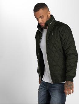 G-Star Winter Jacket Meefic Quilted Overshirt khaki