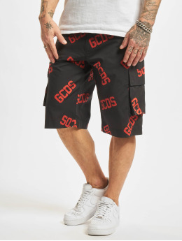 GCDS shorts Bermuda zwart