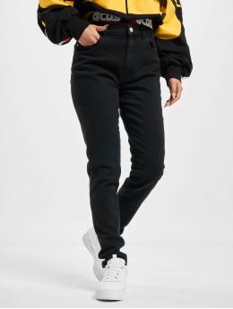 GCDS Skinny Jeans Basic  schwarz